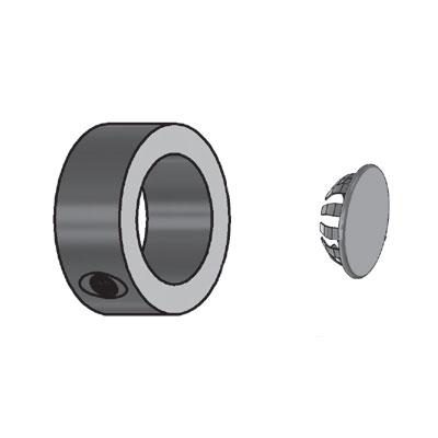 Dualcollar W End Caps Metal Plus Llc